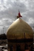 Dome of Imam Hussein by silentart08