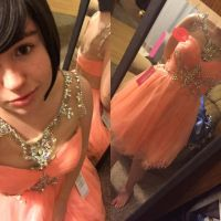 My Prom Dress!  by HowlForLife