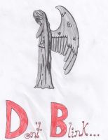Weeping Angel by NinjaZombieCat