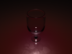 wine glass by jwalka