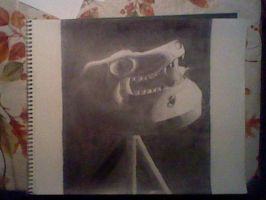 First Tenebrism Drawing by racketify