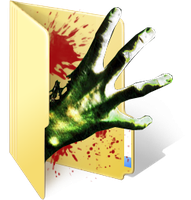 Left 4 Dead Folder Icon by TheDovahBrine