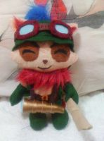 League Of Legends Inspired Teemo Plush Doll by LuciusLawliet