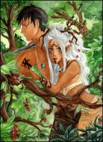 The forest Lovers by ooneithoo