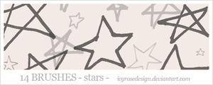 StarBrushes by icyrosedesign