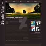 Layout Site Pessoal by sergiovilar