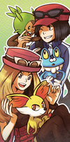 Pokemon XY Bookmark by gladyfaith