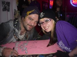 Bam Margera and me by Drivingblind666