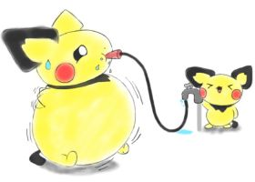 Pichu inflated by selphy6