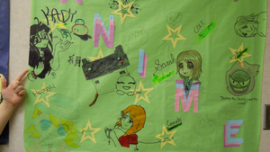 SCW Anime Club Sign by MaiShark