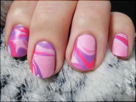 Pink Water Marble by Alchemical
