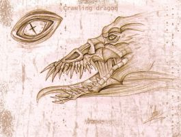 Crawling dragon by mythori