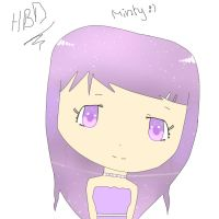 HBD  MINTYYY by Chiimeii