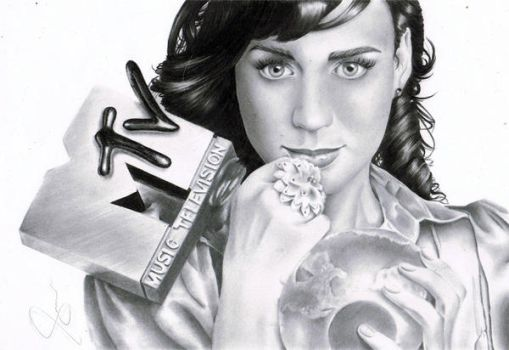 katy perry c: by RusselSantos