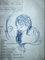 Faeries in my Exam book - Blue by Bliss30