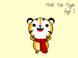 Little Tony The Tiger by FearOfTheBlackWolf