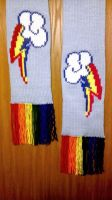 Rainbow Dash Scarf by mandydax