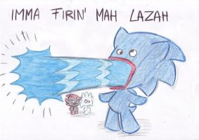 IMMA FIRIN' MAH LAZAH by LeniProduction