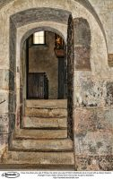 Stairs and Gate Stock by Nameda by Nameda