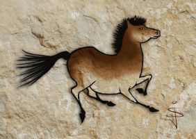 FIN-Cave-Horse-04 by NorthumbrianArtist