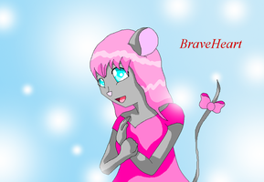 Breaveheart the mouse anthro by HeroHeart001