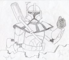 ARC Trooper Thumbs Up by SuperStar2012