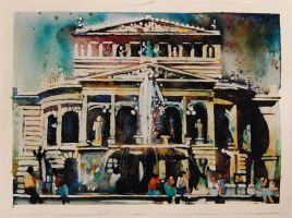 Early Days_The Frankfurt Opera House by richardcgreen