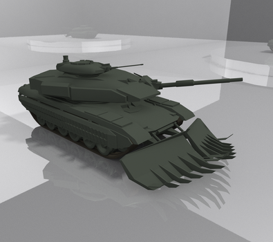 ISA M1A3 Copperhead WIP by Tank50us