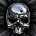 Metal skull by ChrisRa
