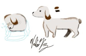 30 Day Art Challenge: Day 12 - Pet Companion by PikaInABag