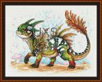 Baby Forest Dragon by JodyS