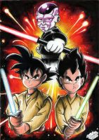 Star Wars vs Dragon Ball by Tadeu-Costa