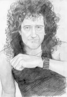 Brian May Queen cleaned by DrawnByYou