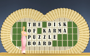 The Sims 2, Wheel Of Fortune 1981 Puzzleboard, #B by ddgjdhh