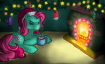 Minty by the Fire by AnScathMarcach