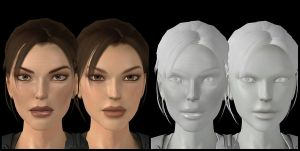 TRU IN-GAME Lara W.I.P by Lobiply