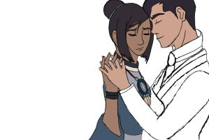 Makorra could have danced all night WIP 2 by msmakorra