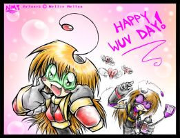 Happy WUV Day by spookydoom