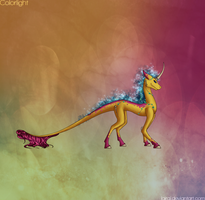 Colorlight,the Spellcaster by Lairai