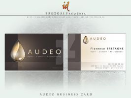 AUDEO Business Card by fredpsycho83