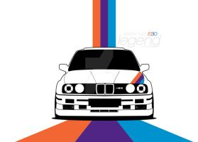 BMW M3 E30 by Batu-RChoping
