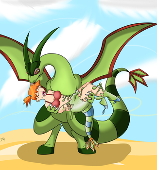 'Gon' with the Wind [Rubber Flygon TF] by Auroracuno