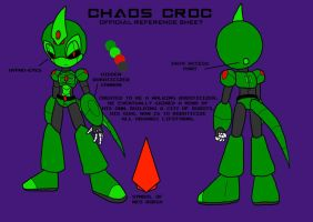 Chaos Croc Reference Sheet by ChaosCroc