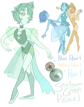 FT - (Mega Pearl) Seafoam Green Pearl by TheZodiacLord