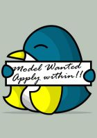 Model Wanted by happienoodleboy