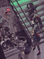Zombie School by DrawKill