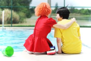 Ponyo and Sosuke: Best Friends, Always by Victoria382