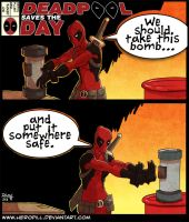 deadpool saves the day by HeroPill