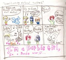 Conflicting Musical Tastes by rainbows-and-stars