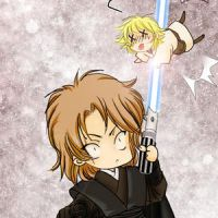 STAR WARS - Anakin Skywalker 2 by Sagakure